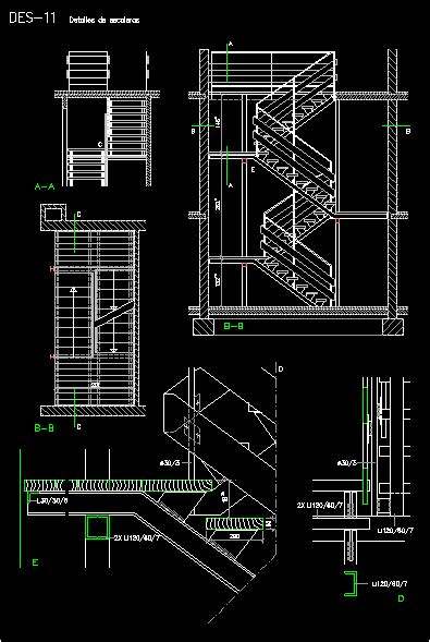 stair section detail dwg metallic stair dwg section for autocad designs cad