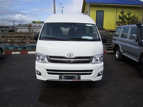 Toyota Commuter 2012 Image Gallery 2012 Toyota Hiace