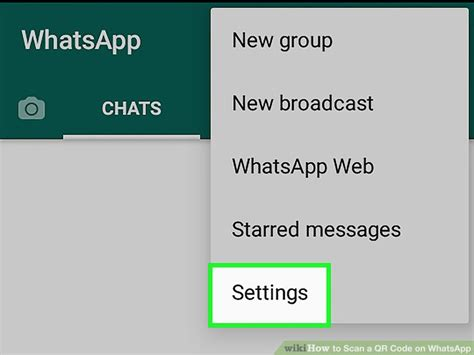 how to scan qr code android how to scan a qr code on whatsapp 12 steps with pictures