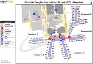 United Airlines Baggage Info by Airport Maps Charts Diagrams Charlotte Douglas
