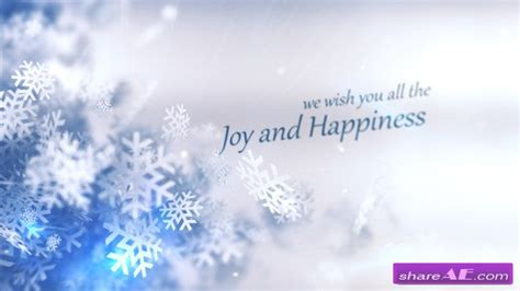 free template after effects merry christmas winter 187 free after effects templates videohive free ae