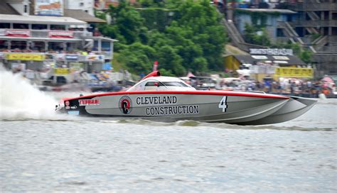 cleveland construction race boat pbc jimmy john s snags second in supercat battle the