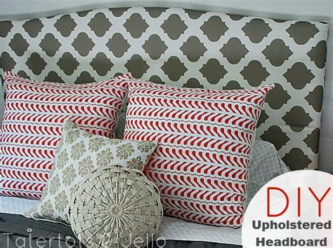 easy upholstered headboard tutorial