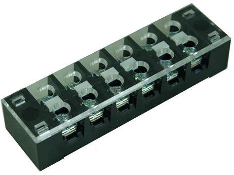 Terminal Block Tr 20 tb 335xxcp series panel mounted 35a fixed terminal blocks shining