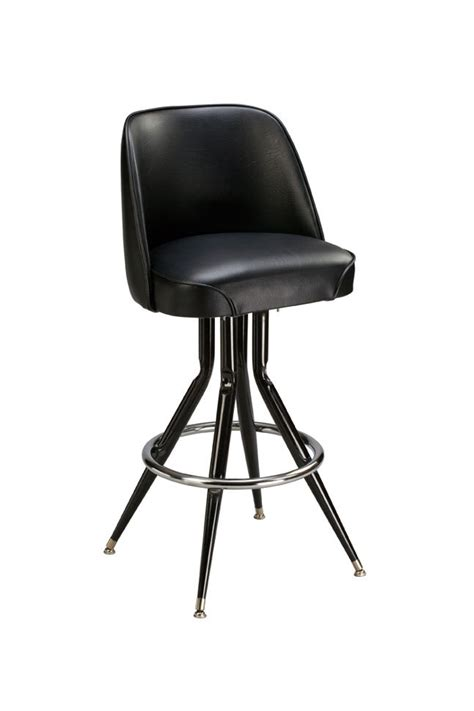 Bar Stools With Seats by Regal Seating P2tft 1101 Tufted Back Seat Bar Stool With Flare Out Base Bar