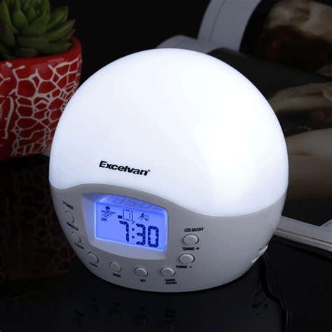 digital bodyclock natural wake  light alarm clock
