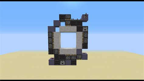 How To Make A 3x3 Piston Door by Smallest 3 215 3 Piston Door I Found This On And I