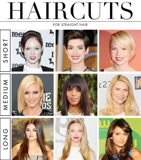 best hairstyles and their names the 9 best haircuts for straight hair aol lifestyle