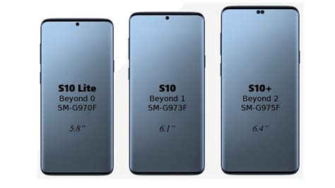 samsung galaxy s10 galaxy s10 lite and s10 plus model numbers code names revealed technology