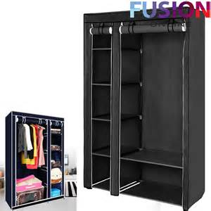 Cupboard Clothes Organiser Fabric Canvas Clothes Storage Organiser Wardrobe