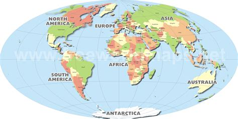 where is on a world map world map free large images