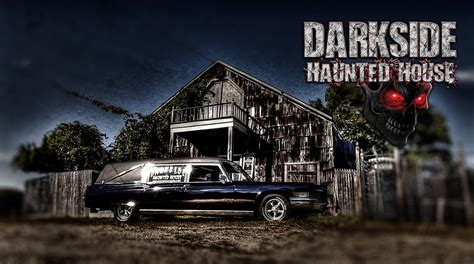 darkside haunted house island haunted houses