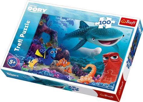 Best Terlaris Puzzle Jigsaw Frozen 100 Pcs Sni trefl 100 unisex disney pixar finding dory