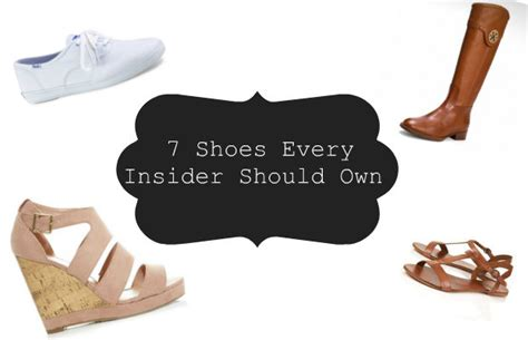 shoes every should 7 shoes every insider should own chelsea crockett