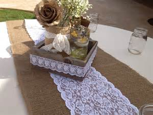 Lace runners for tables
