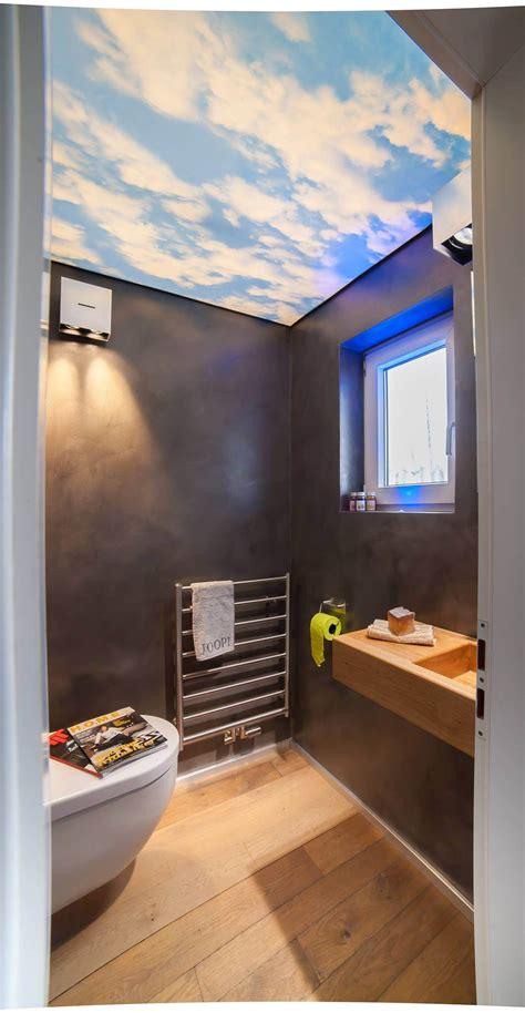 Bad Wc Design by G 228 Ste Wc Mit Lichtdecke Die Visitenkarte Des Hauses