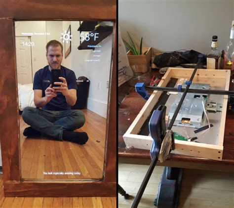 smart tips on where to put mirrors mirrors for dining room 6 best raspberry pi smart mirror projects we ve seen so far