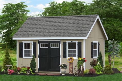 Outdoor Garages And Sheds by 10x16 Garden Sheds To Buy Pa Ny Nj De And Beyond