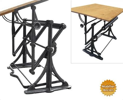 Table A Dessin Darnay by Ancienne Table 224 Dessin D Architecte Design Industriel