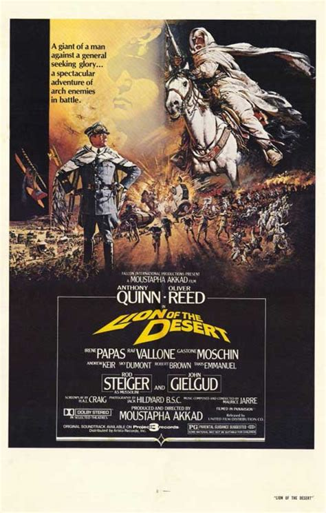 film lion desert lion of the desert 1981 stars anthony quinn oliver