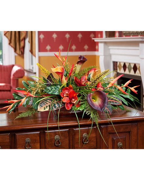 fake floral arrangements for your table centerpiece