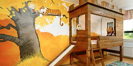 Calvin And Hobbes Wall Mural it s a magical world delightful calvin and hobbes bedroom