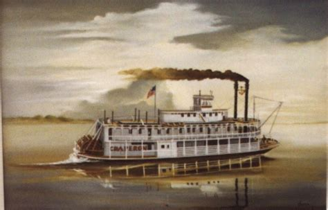 steam boat on the mississippi 1812 passenger steamboats begin sailing up the
