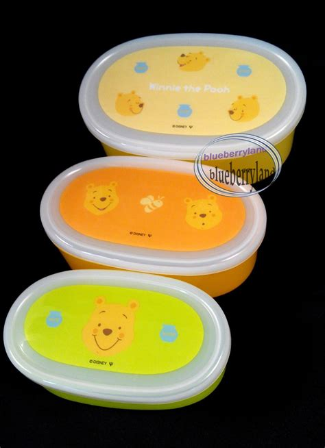 Winnie The Pooh Lunch Box Gift Set japan disney winnie the pooh bento lunchbox lunch box food