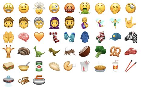 emoji ios 11 emoji ios 11 nuove emoticon unicode 10