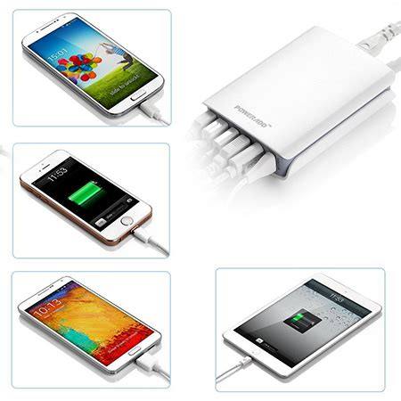 fully desk coupon code poweradd 50w 6 port usb desktop charger gets 67 reduction