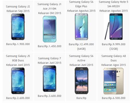 Harga Samsung A3 Januari daftar harga smartphone samsung galaxy android terbaru