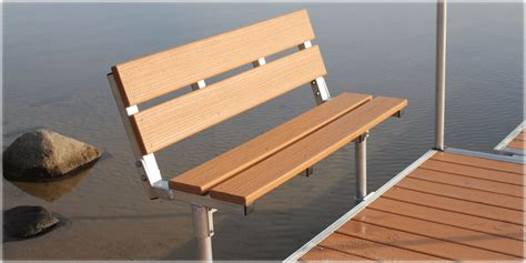 dock benches dock benches boat docks