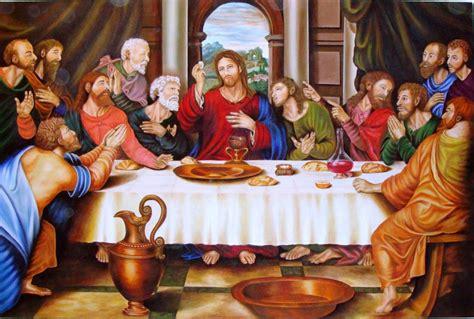 la ultima cena de jesus y sus discipulos lo que comieron jesucristo y sus disc 237 pulos en la 218 ltima c