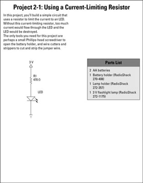 do resistors limit current electronics projects how to limit current with a resistor