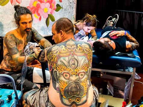 tattoo convention new york 2016 tattoo enthusiasts from israel around the world get