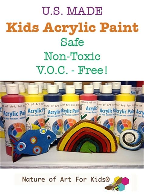 Acrylic Paint For Safe Kits