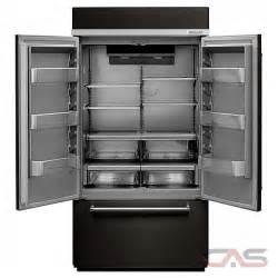 Kitchenaid kbfn502ebs french door refrigerator 42 quot width freezer