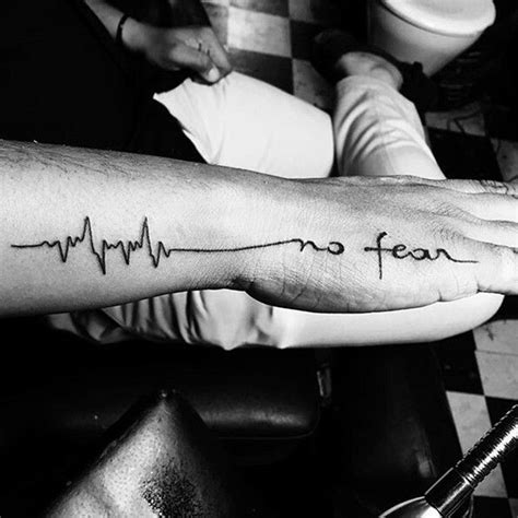 no fear tattoo 1000 ideas about no fear on fear
