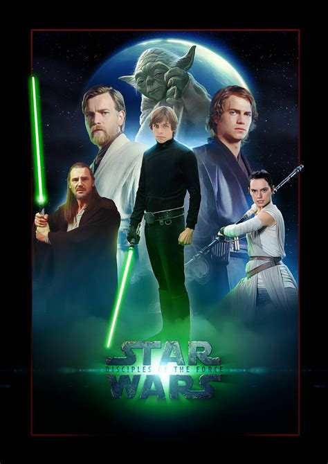 Wars Light Of The by Fanart Wars Poster The Light Side By Uebelator On