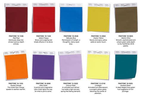 pantone color trends pantone colour trends a w 2018 2019 kukka