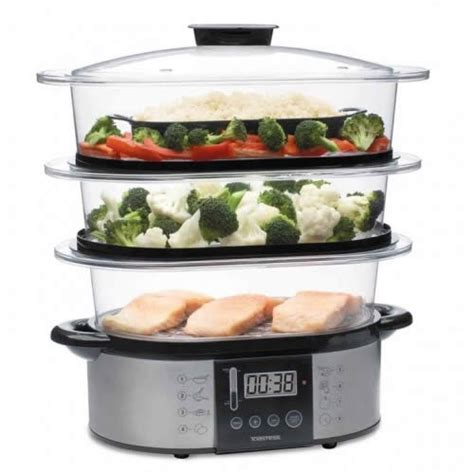 vegetables steamer toastess 3 tier vegetable steamer wish list