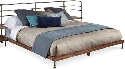 lightweight futon mattress epicenters light oak queen platform bed from art coleman