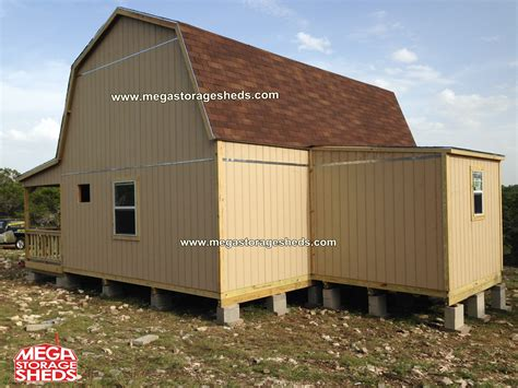 Storage Shed Cabin by Mega Storage Sheds Barn Cabins