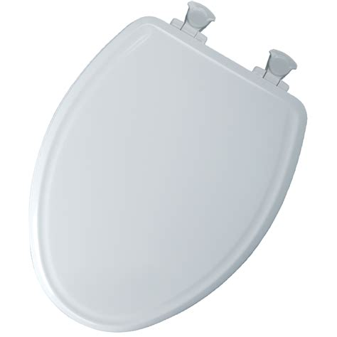 oblong toilet seat lowes shop church white wood elongated toilet seat at