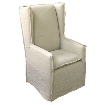 oatmeal linen wingback chair best linen slipcover products on wanelo