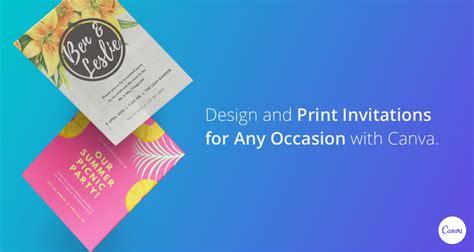 canva zaproszenia projektowanie i drukowanie zaproszeń na r 243 żne okazje canva