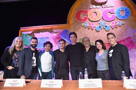 coco actors interviews with the cast and creators of disney pixar coco