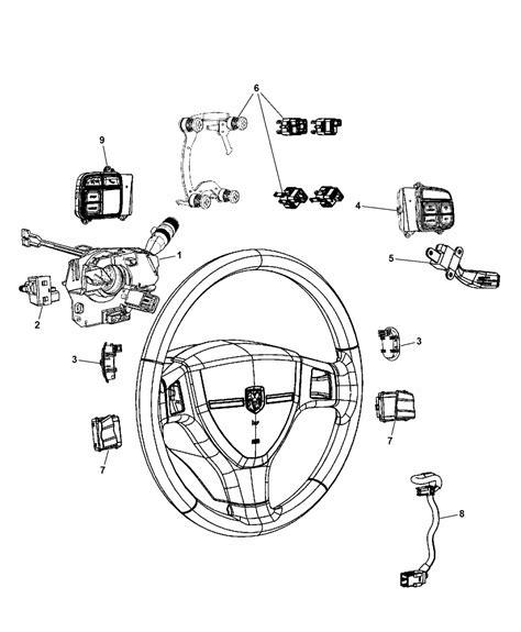 electric power steering 2012 dodge caravan spare parts catalogs 68148758ad genuine chrysler wiring steering wheel