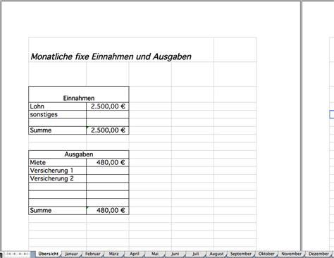 Tabellen Vorlagen Muster haushaltsbuch als excel vorlage kostenlos excel