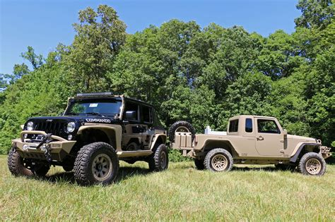 tactical jeep the jeep wrangler commando is ready for war and peace